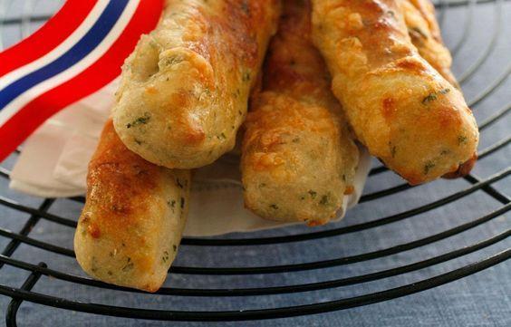 Oppskrift ost- og urtebrød