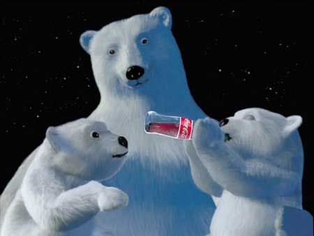 """1993 -Always Coca Cola In 1993, The Coca-Cola Company made a dramatic shift in its advertising by introducing the memorable """"Always Coca-Cola"""" campaign, by Creative Artists Agency and later Edge Creative. Animated polar bear became one of the most popular symbols of Coca-Cola."""
