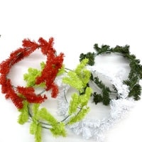 Deco mesh and wire work wreath forms -- another source
