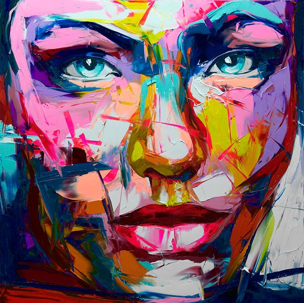 Nielly francoise bright painting disguise