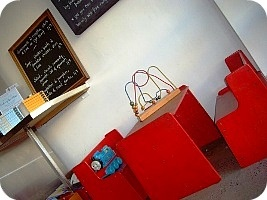 Small Block :: Brunswick East :: High Chair - Change Table - Toys - Books