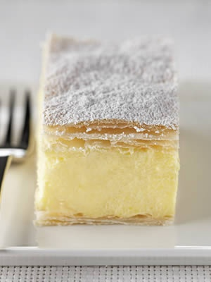 Vanilla or Cream Slice; English-speaking Countries