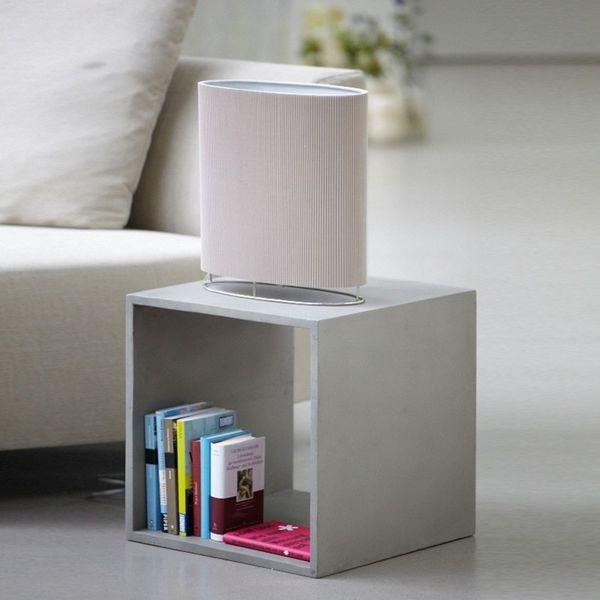 Cube De Rangement Beton 40 X 40 X H 40 Cube Rangement Meuble Rangement Table Basse Design