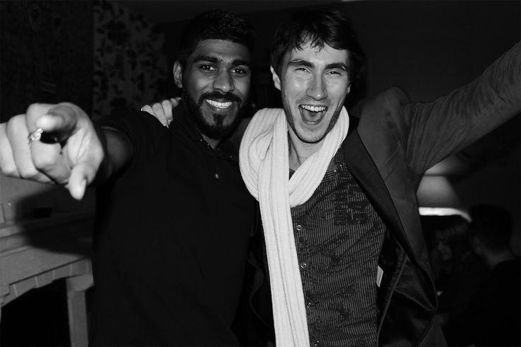 Aruban et Justin #fête #party #anniversaire #birthday #paris #france #photography #blackandwhite #blackandwhitephotography