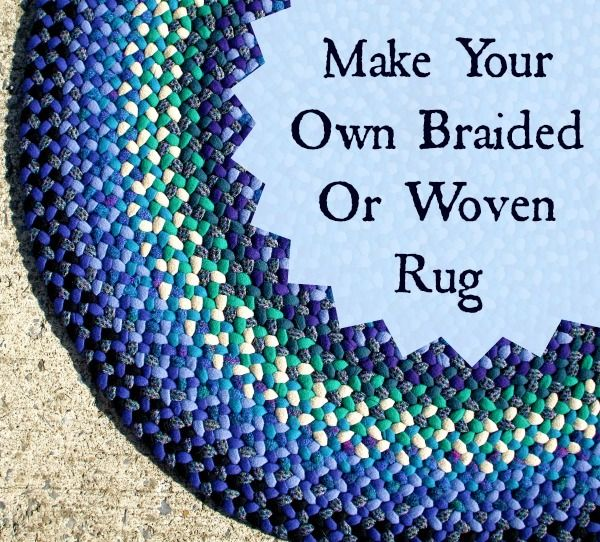 Keep Busy This Winter: Make Your Own Braided And Woven