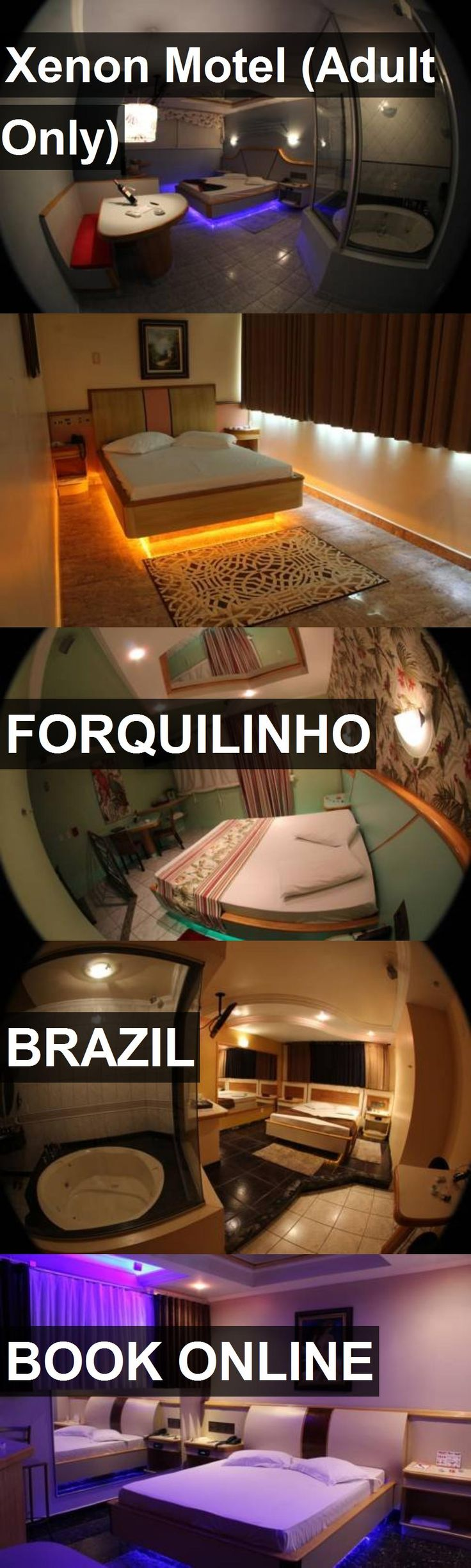 Hotel Xenon Motel (Adult Only) in Forquilinho, Brazil. For more information, photos, reviews and best prices please follow the link. #Brazil #Forquilinho #travel #vacation #hotel