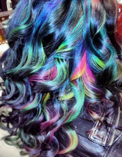 Hair Colored Chalk  Temporary Color Pastels Pick by ShareeBoutique, $4.00  Very cool!