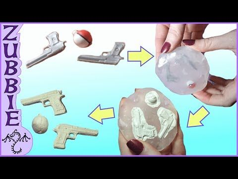 How to Make 2 Part Molds using Oyumaru, No Resin, DIY Clay Push Molds - YouTube