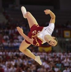 World champion aerobic gymnast Parejo receives top Spanish sport award
