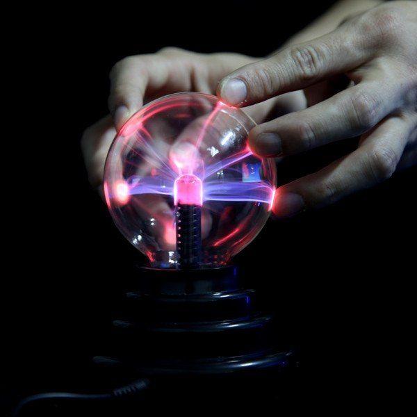 плазменный шар - одно из изобретений Николы Тесла
