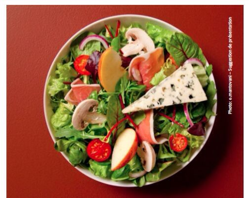 Salade du Combalou au Roquefort Societe