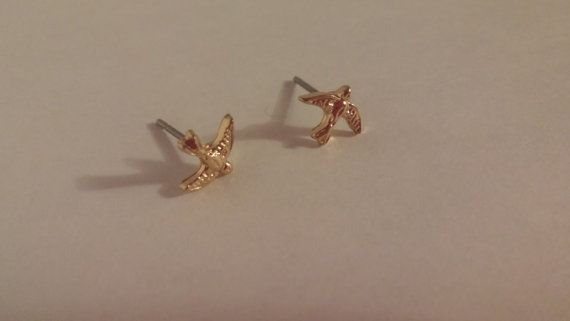 Check out this item in my Etsy shop https://www.etsy.com/ca/listing/459097658/sparrow-studs