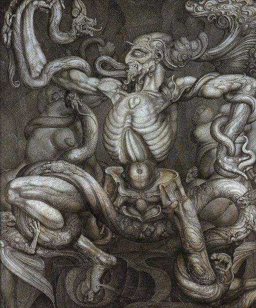 "Ernst Fuchs, ""Metamorphosis"""