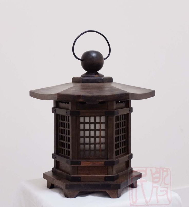 antique wood japanese lanterns - Google Search                                                                                                                                                                                 More
