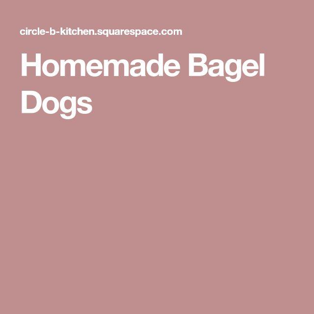 Homemade Bagel Dogs