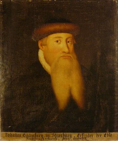 Johannes Gutenberg (1397-1468)