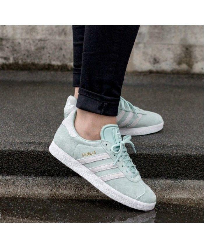Adidas Gazelle W Ash Green Ftwr White