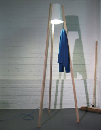 Radiant Coat Racks - The Coatlight by Mathias Hahn is a Doubly Inviting Home Accessory (GALLERY)