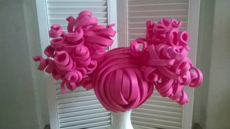 Foam Wig Lalaloopsy Style by LadyMallemour on Etsy