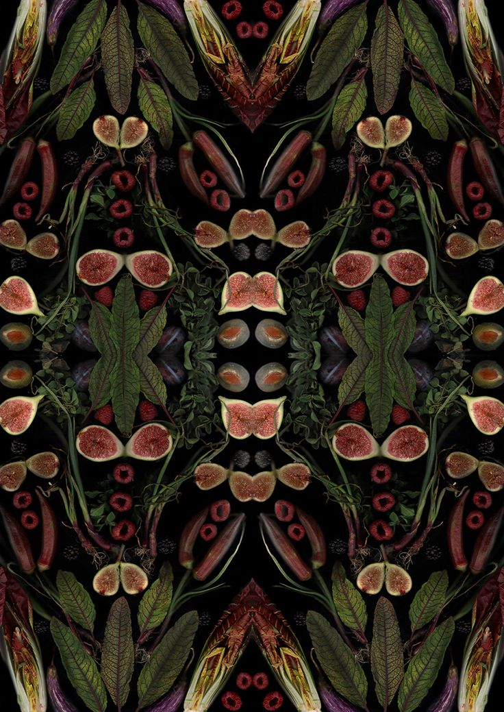 henry hargreaves + caitlin levin reveal seasonal produce as surrealist food scans