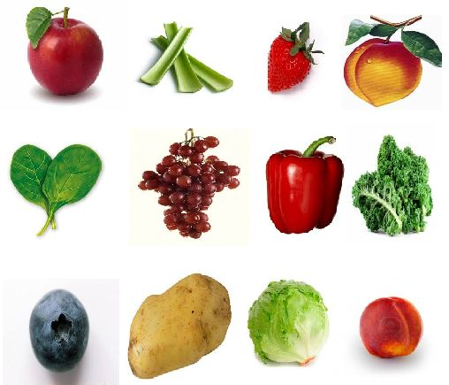 What do these fruits and vegetables have in common? They are the most contaminated with pesticide