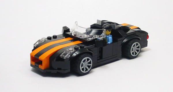 lego city mini car instructions