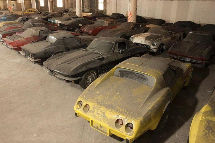 In ons kleine Belgenland is het al heel wat als een Televisiezender één auto weggeeft. Maar in de VS is dat niet zo speciaal. De 36 auto's die VH1 weggaf in 1989 waren dat echter wel. Allemaal Corvettes...
