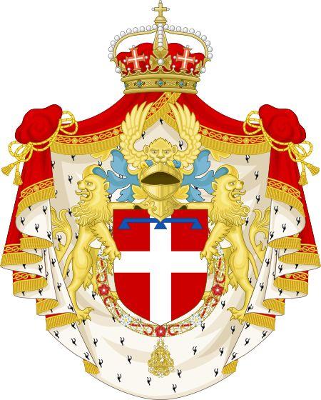 Stemma del principe di Piemonte