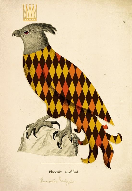 Now that is one regal phoenix | University of Phoenix #art #sighting