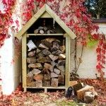 Hinton Log Store | Small Garden Log Stores made in the UK | Dorset Log Stores