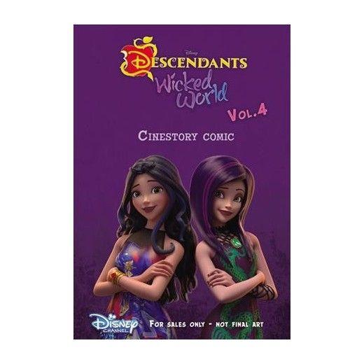 Disney Descendants Wicked World Cinestory Comic 4 (Paperback) (Scott Peterson)
