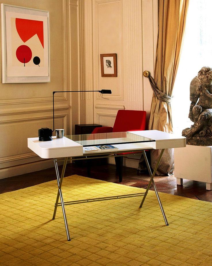 Cosimo Desk. Элегантный дизайн стильного офисного стола.
