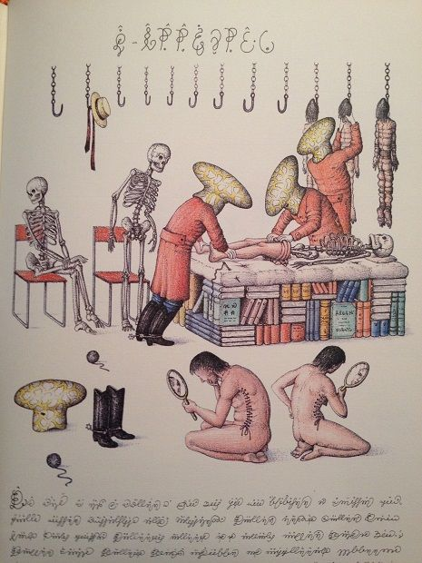 In October Rizzoli will be republishing what is regarded by many to be the strangest book in the world, the Codex Seraphinianus. The Codex is unlike other historically well-known strange books (such as the Voynich Manuscript), in that the author of the book is not only known (Luigi Serafini is his name), he's still alive.