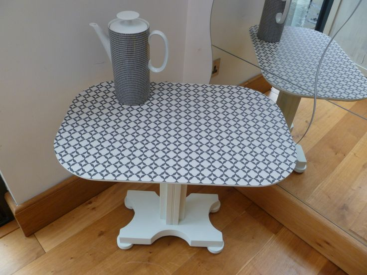 Lovely Painted solid wooden Table - £34