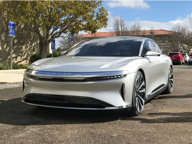 A $100,000 electric car trying to take on Tesla hit a top speed of 235 mph — here's what you need to know (TSLA) - Lucid Motors, a startup going after Tesla's grip on the luxury electric car market, said Monday that a prototype of its Lucid Air sedan hit a top speed of 235 mph, crushing the top speed of a Model S (155 mph). That's not exactly a fair comparison considering the Lucid prototype was adjusted to go as fast as possible. An actual production version of the car will be…
