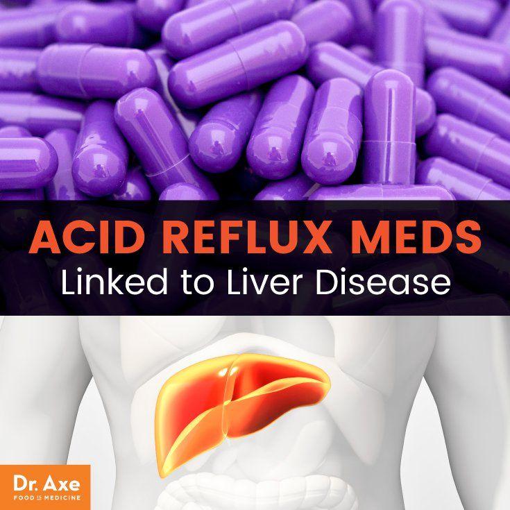 Popular Acid Reflux Medication Linked to Chronic Liver Disease