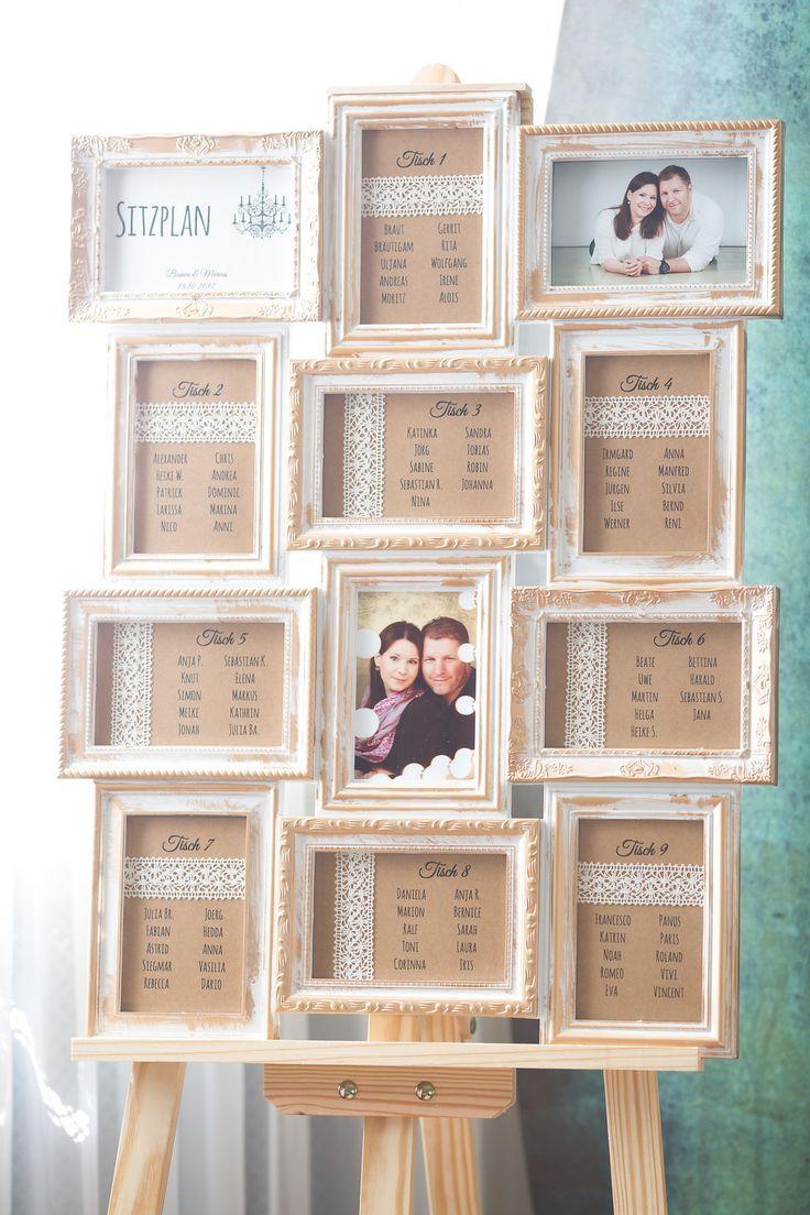Sitzplan Vintage Diy Hochzeit Selbermachen Selbstgemacht Tischplan Sitzordnung Schlosshochzeit Im Herb Seating Plan Wedding Wedding Table Planner
