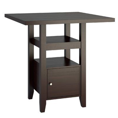 if compact dining is what you need this counter height dining table is the answer
