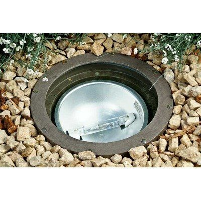 """1 Light In-Ground Well Light Volts: 120V, Bulb Type: 50W MH by Dabmar Lighting. $566.45. FG4280 Volts: 120V, Bulb Type: 50W MH Features: -Well light.-Number of lights: 1.-Clear, heat-resistant tempered glass lens.-Fixture comes pre-wired.-Multi-tap.-Volts: 120.-ETL and UL listed. Includes: -Includes direct burial wire/cable. Construction: -Durable fiberglass construction. Dimensions: -Overall dimensions: 9.6"""" H x 9.6"""" W x 14.5"""" D. Warranty: -Manufacturer provides 1 year w..."""