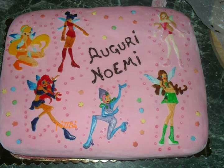 Torta Winx Cake