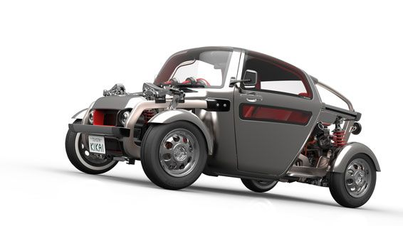 Toyota KIKAI. KIKAI makes the car's mechanical parts something to be seen and admired, rather than concealing them from view. The vehicle's inner workings have become part of the exterior in a design concept that breaks with convention.