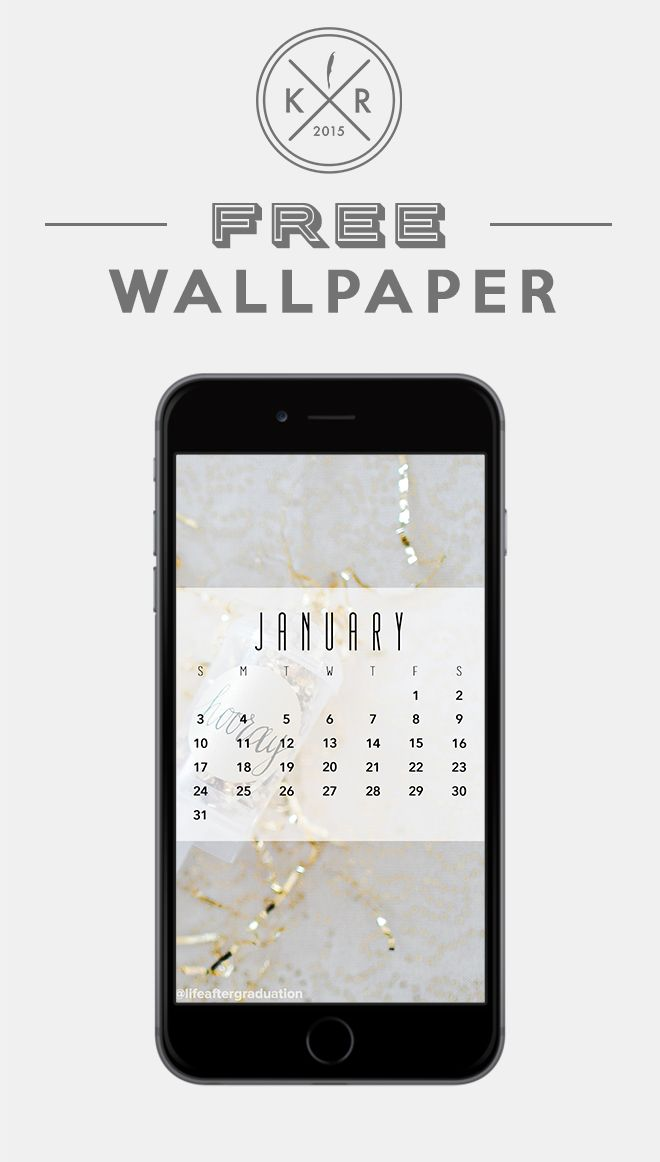 Calendar Wallpaper Phone : New years confetti wallpaper january calendar for your
