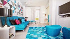 espaizero: Un piso con mucho color! spaizero.blogspot.com.es