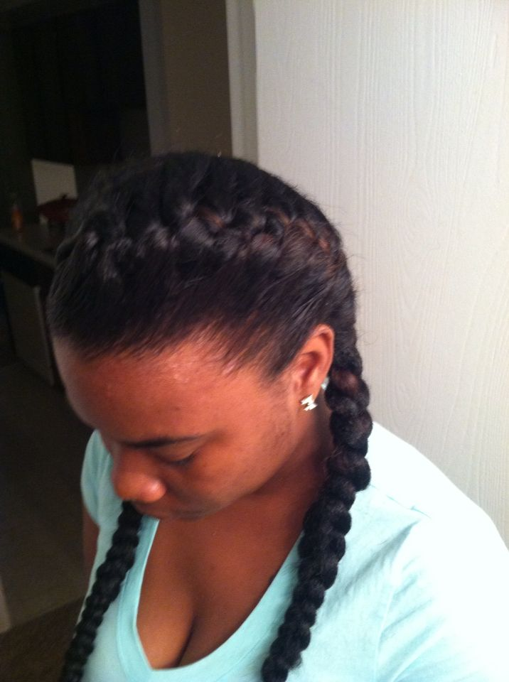 Cute Simple Underhand Braids Weave Hairstyles