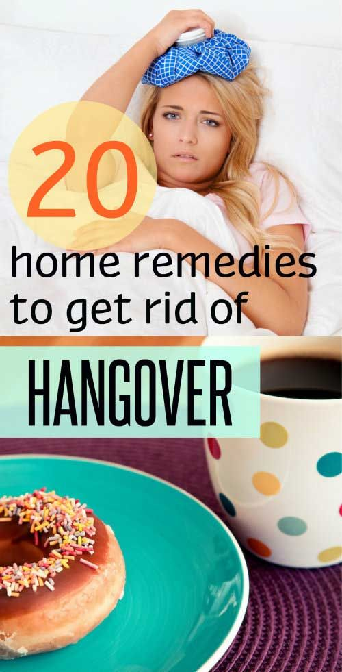 Home Remedy Hacks • 20 Home Remedies to Get Rid of a Hangover