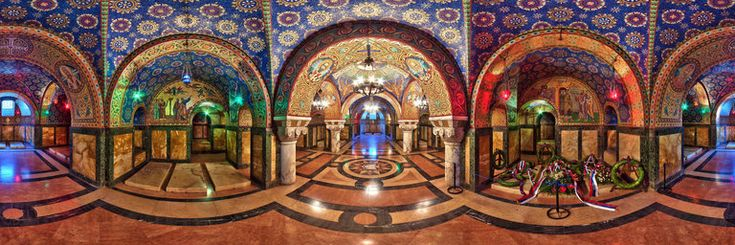 360Cities – Panoramic Photography Blog » Blog Archive » Serbia: Crypt of the St. George's Church, Oplenac, Topola