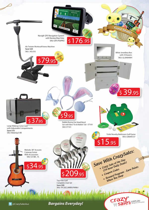 "Page 7 Easter Catalogue  ""Cool Stuff"""