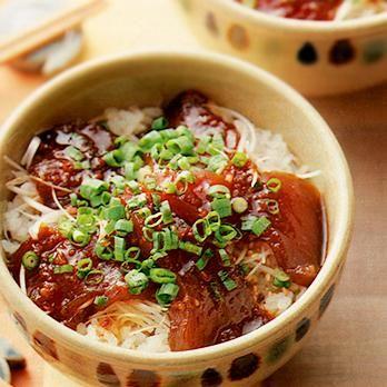 エスニックまぐろ丼 | 川村由紀子さんのどんぶりの料理レシピ | プロの簡単料理レシピはレタスクラブニュース