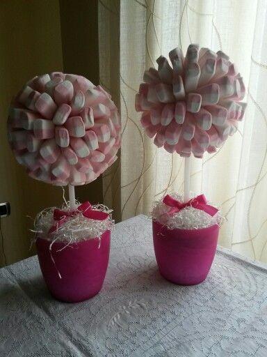 Alberelli di Marshmallow