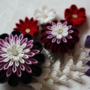 大輪の華、中花、小花
